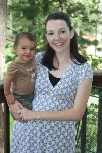 Micah and I are both styling, although only I am wearing organic fabrics. Drool becomes Micah a little more. ;-)