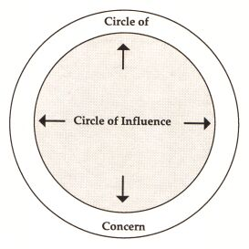 Energy and Effort Within Your Circle of Influence, Increases Your Influence!